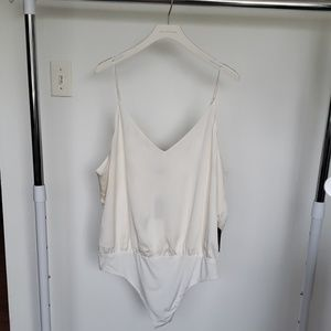 BRAND NEW - Size XL - Express Crepe Cami Bodysuit